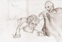 Harry und Voldemort auf dem Friedhof