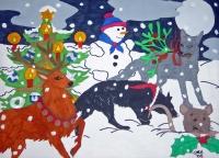 Weihnachtliche Rumtreiberei