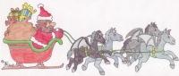 Hagrids Weihnachtsschlitten